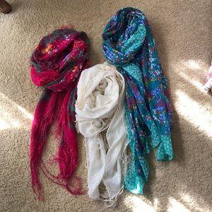 Multipack of H&M Boho Scarves